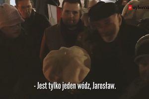 Jan Duda, ojciec prezydenta RP, na 93. miesięcznicy smoleńskiej