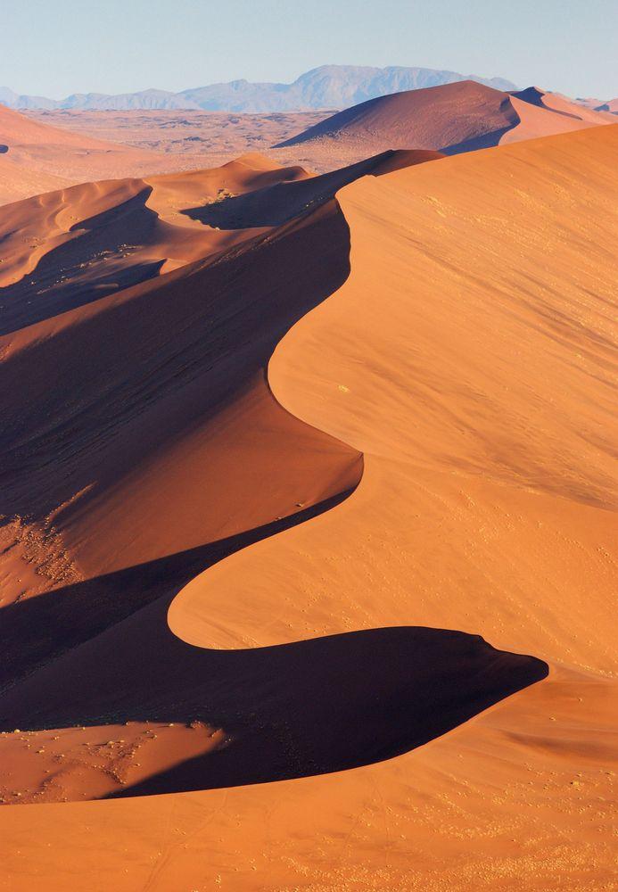 Wydmy na pustyni Namib, Namibia / fot. Shutterstock