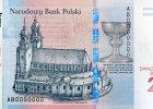 Mieszko, Dobrawa i katedra w Gnieźnie na 20-zł banknotach z okazji 1050. rocznicy chrztu Polski [ZDJĘCIA]