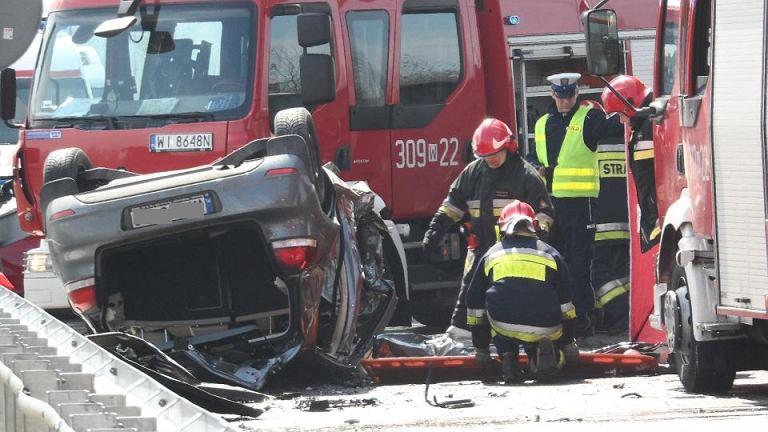 Śmiertelny wypadek na ul. Wirażowej