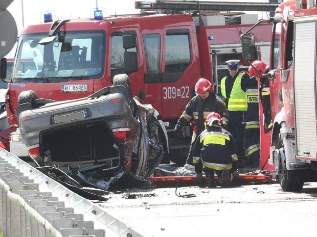 �miertelny wypadek na ul. Wira�owej