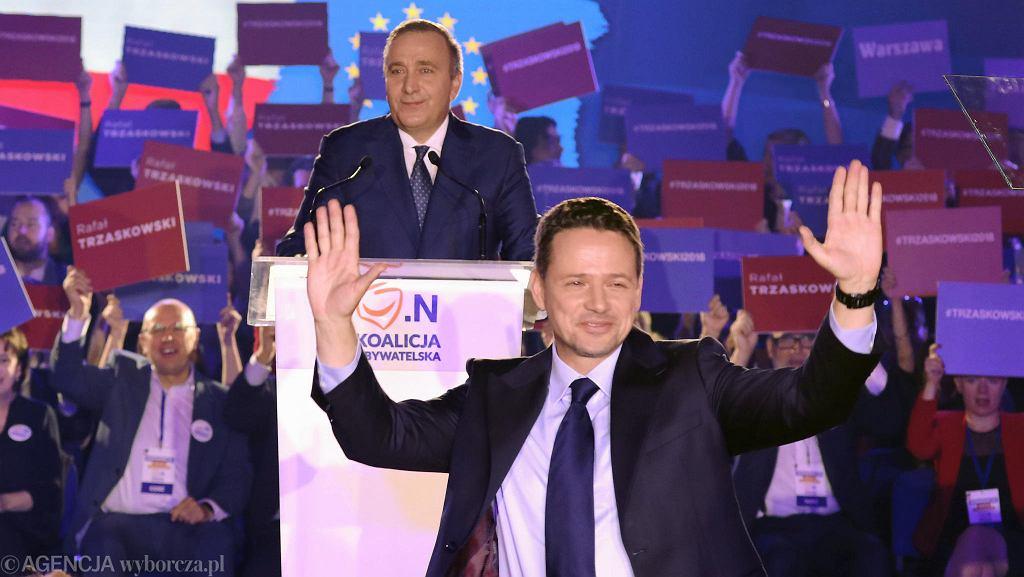 Wybory samorządowe. Jerzy Buzek poparł Rafała Trzaskowskiego