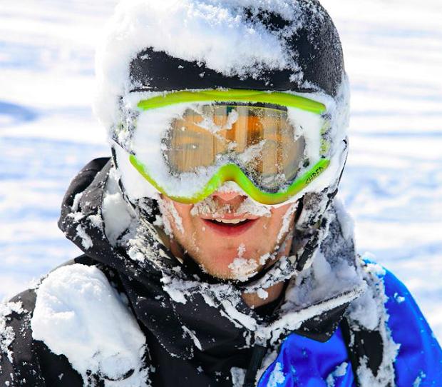 Dobry strój narciarski nie zdejmuje uśmiechu z twarzy