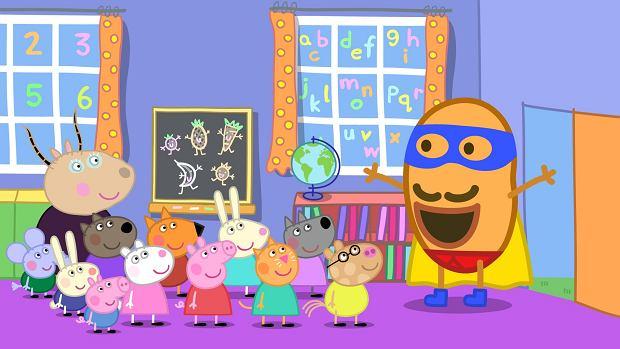 Świnka Peppa i jej przyjaciele z przedszkola