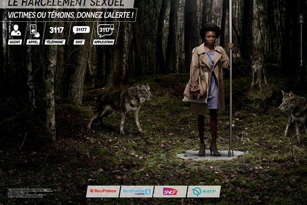 Kampania dla ofiar i świadków przemocy seksualnej w komunikacji miejskiej