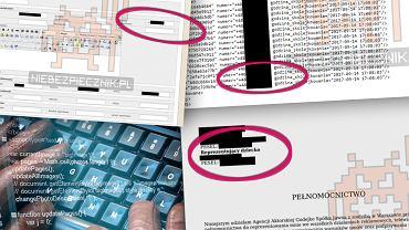 Dane niektórych współpracowników TVP wyciekły do sieci