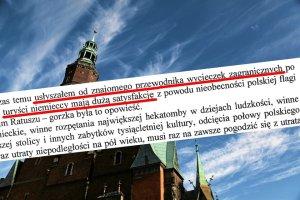 Radny PiS złożył interpelację do prezydenta Wrocławia. By nie dawać satysfakcji turystom z Niemiec