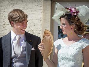 Książę Louis i księżna Tessy