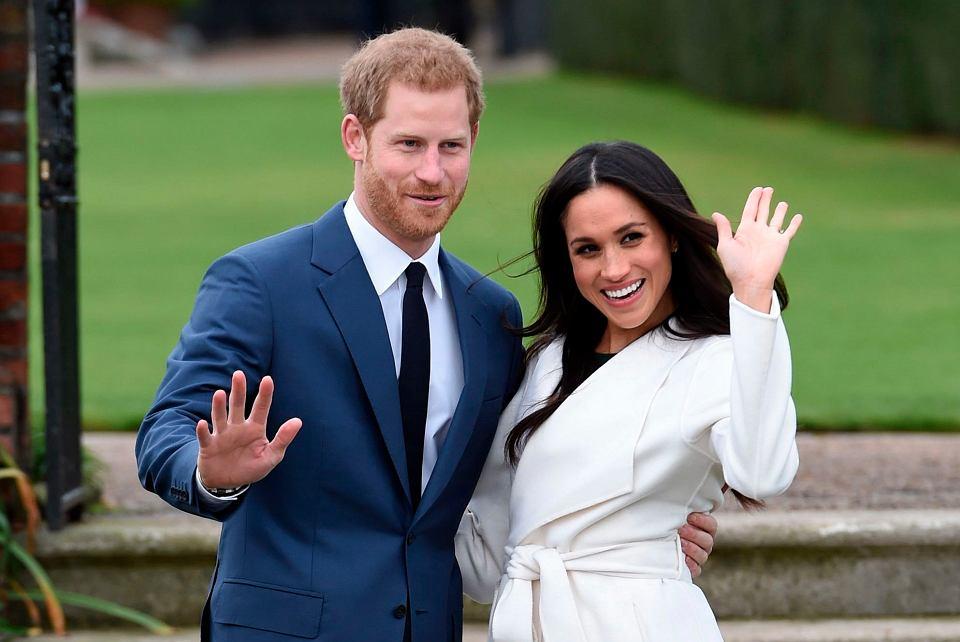 Książę Harry i jego wybranka Meghan Markle