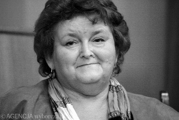 Monika Szwaja nie �yje. Pisarka i dziennikarka mia�a 65 lat