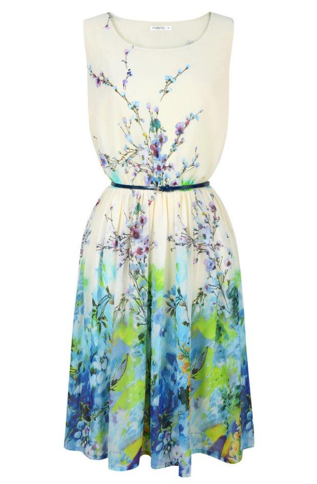 wiosna 2014, sukienka, taranko