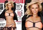 """Ta okładka z Britney Spears oburzyła sieć. """"Czy to nie zbyt wiele Photoshopa""""? Teraz Spears udowodniła, że to jej PRAWDZIWA figura"""