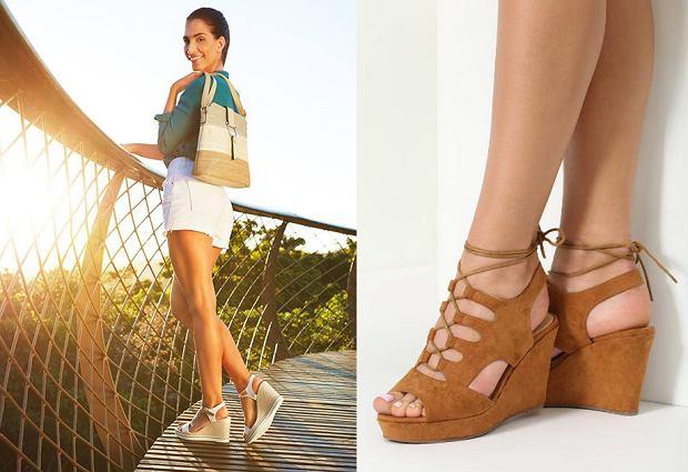 4c20c9fc Sandały na koturnie - wygodne i stylowe buty na lato