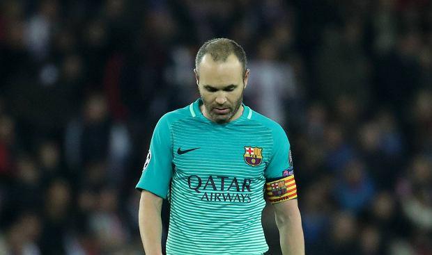 Andres Iniesta, Paris Saint-Germain - FC Barcelona