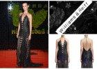 Supermodelka Kasia Struss zaanga�owana charytatywnie. Wystawi�a na aukcj� swoj� zjawiskow� sukni� z balu TVN (pami�tacie?)