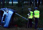 Gro�ny wypadek na drodze S3. W aucie troje dzieci... [ZDJ�CIA]