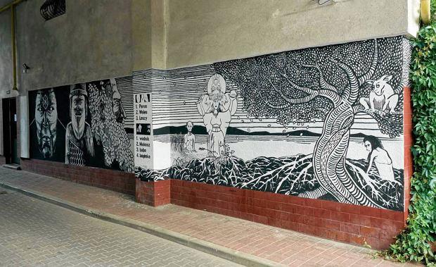 Spos b na wandali zr b mural nie b dzie bazgro w for Mural ursynow