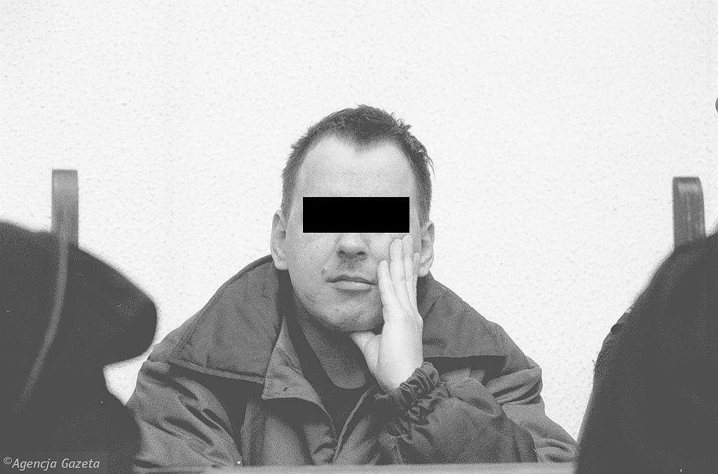 Leszek Pękalski na sali sądowej (fot. Jacek Balk / Agencja Gazeta)