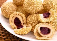 Jian dui - chińskie kulki sezamowe - ugotuj