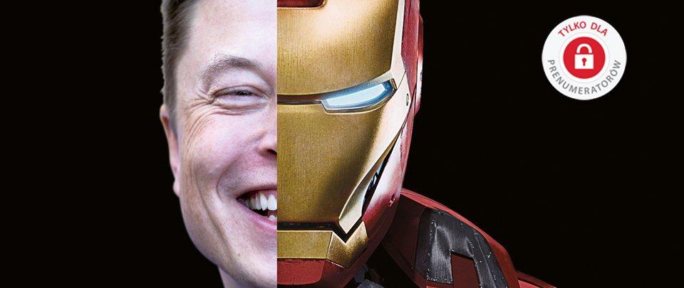 Elon Musk, miliarder, wznalazca, ekscentryk - cz�owiek, kt�ry umrze na Marsie