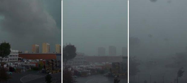Burze nad Polsk�. Gwa�towne burze i ulewy przesz�y przez ca�y kraj. Po�amane drzewa, zerwane dachy... [ZDJ�CIA]