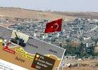 Pa�stwo Islamskie zaatakowa�o na granicy z Syri�. Turcja odpowiedzia�a ogniem
