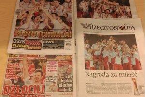 Mistrzostwa �wiata w siatk�wce 2014. Polska media oszala�y po zwyci�stwie siatkarzy w finale M�