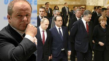 Paweł Kowal   Merkel, Hollande, Poroszenko i Putin na spotkaniu w Mińsku