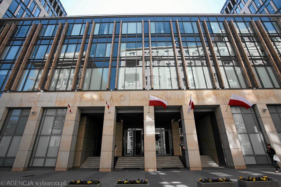 Siedziba Naczelnego Sądu Administracyjnego przy ul . Boudena w Warszawie