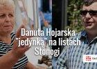 Stonoga przedstawił jedynki na swoich listach do parlamentu. Wśród nich Hojarska i zbuntowany policjant...