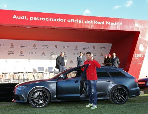 Dziesi�� lat partnerstwa Audi i Realu Madryt