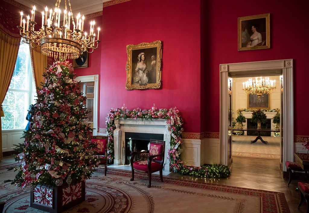 White House 2017 Christmas Decorations >> Boże Narodzenie. Świąteczne dekoracje w Białym Domu | Wiadomości ze świata - Gazeta.pl