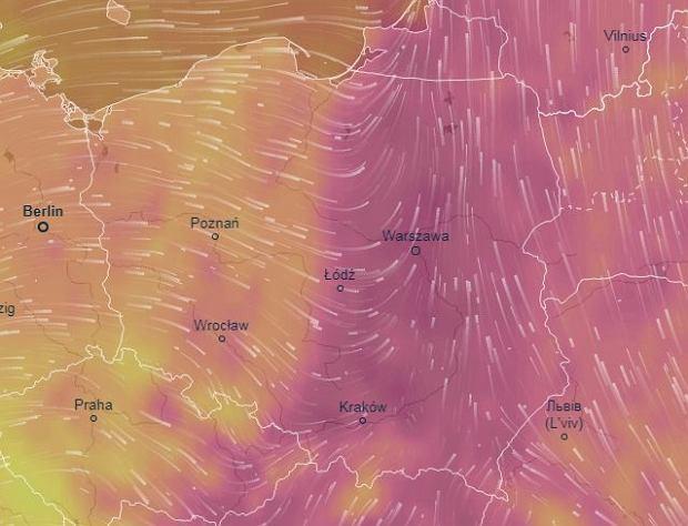 W piątek w połowie kraju nastąpi ochłodzenie