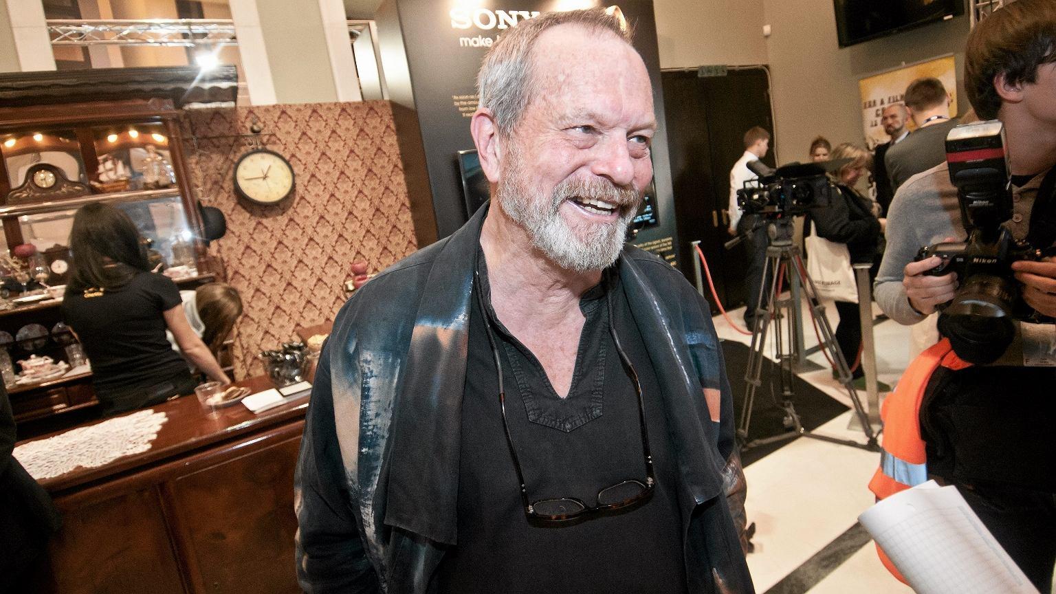 Nowy film Terry'ego Gilliama wchodzi na ekrany kin 10 sierpnia. Na zdjęciu reżyser na Festiwalu Camerimage w 2013 r.