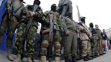 Prorosyjscy rebelianci w Doniecku