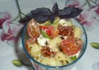 Sa�atka makaronowa z pomidorkami