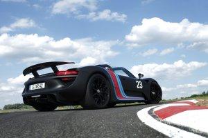 Porsche 918 Spyder Pierwsza jazda | Ekologiczna brutalność