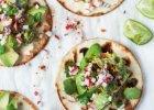 Tacos z bobem i rzodkiewkami