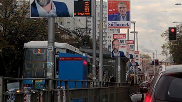 Plakaty wyborcze we Wrocławiu