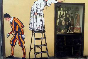 Z Rzymu do Poznania. Radny PO chce, by powsta� u nas mural z papie�em Franciszkiem
