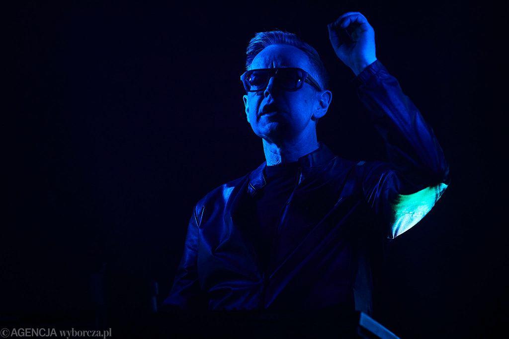 Andy Fletcher podczas koncertu Depeche Mode w Atlas Arena Łódź 2018r. / Fot. Tomasz Stańczak / Agencja Gazeta