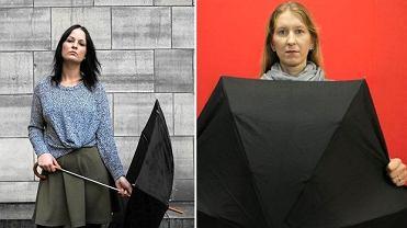 Uczestniczki czarnego protestu
