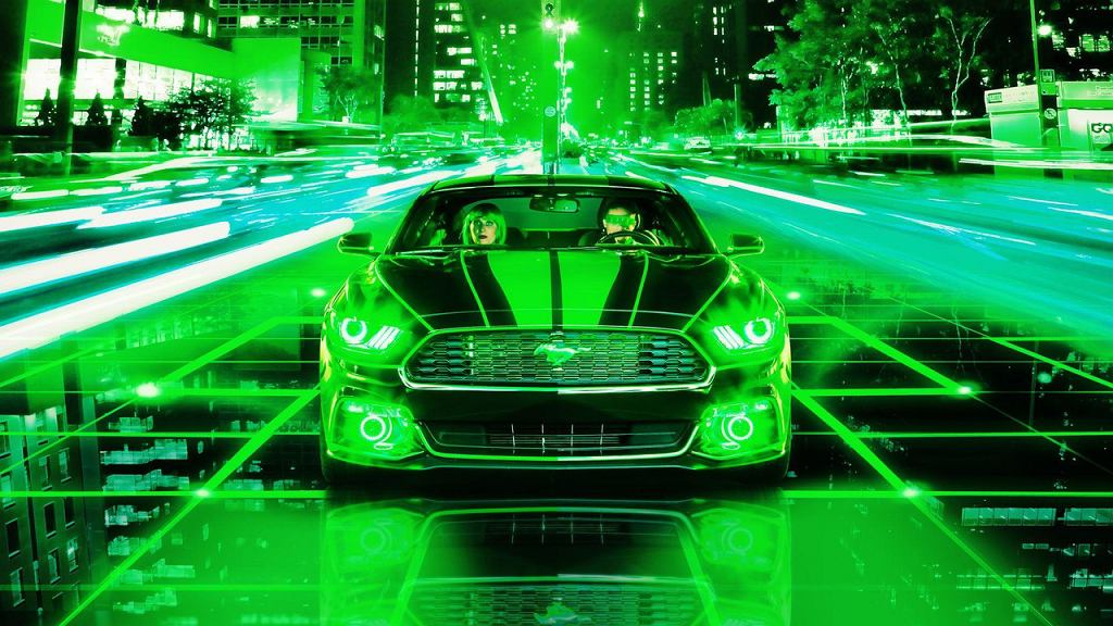 Ford Mustang 'The Green Machine'