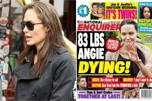 Angelina Jolie umiera?