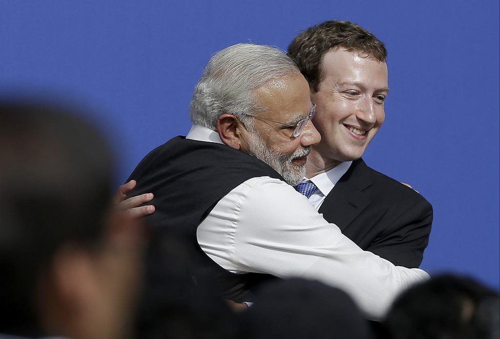 Trump Modi Hug