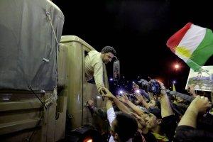 Kurdowie na pomoc Kobane