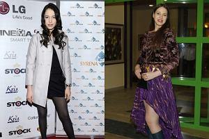 Anna Ba�on przed i po z�amaniu nogi, z powodu kt�rego przez kilka tygodni nie �wiczy�a