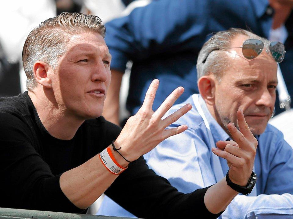 Zdjęcie numer 0 w galerii - 'Anka, co Ty wyprawiasz?!' Bastian Schweinsteiger kibicuje swojej dziewczynie na French Open