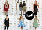 Jennifer Lopez, Kim Kardashian z siostrami, Taylor Swift oraz m�ode gwiazdy Hollywood na gali Teen Choice Awards 2014