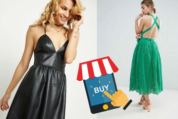 5abe53c38f Sukienki ze sklepów internetowych - wybieramy modele